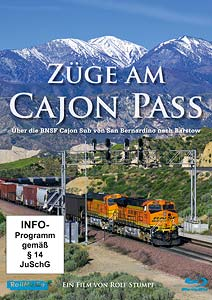 Züge am Cajon Pass